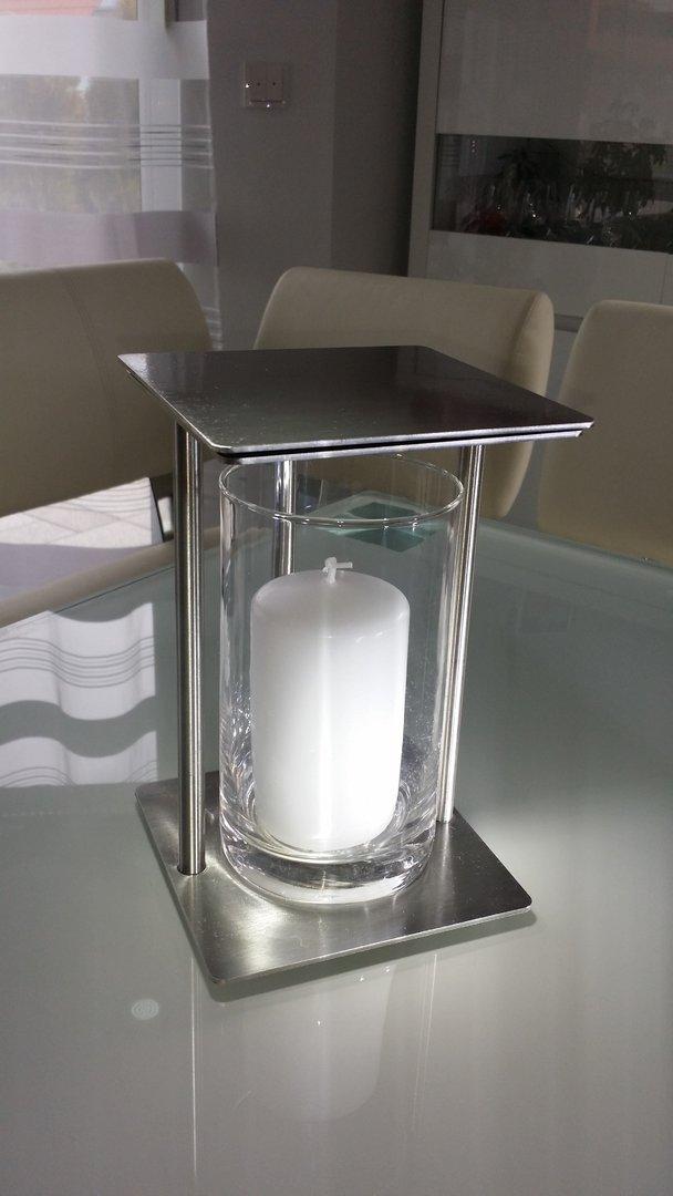 windlicht grablicht laterne rostfrei rechteck k s e shop. Black Bedroom Furniture Sets. Home Design Ideas